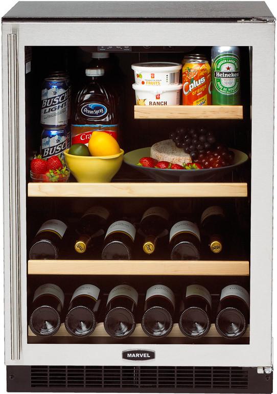 Marvel 6garmbsgr 24 Inch Undercounter Refrigerator With 5