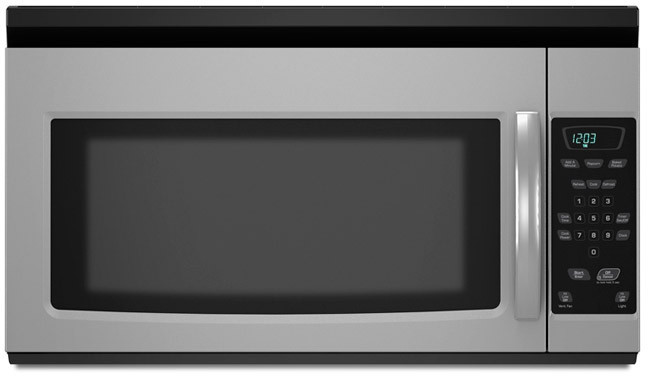 amana amv1150vas 1 5 cu ft over the range microwave oven. Black Bedroom Furniture Sets. Home Design Ideas