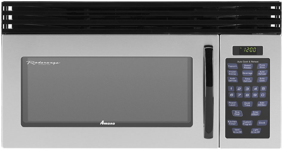 Amana Amv1162aas 30 Inch Over The Range Microwave Oven