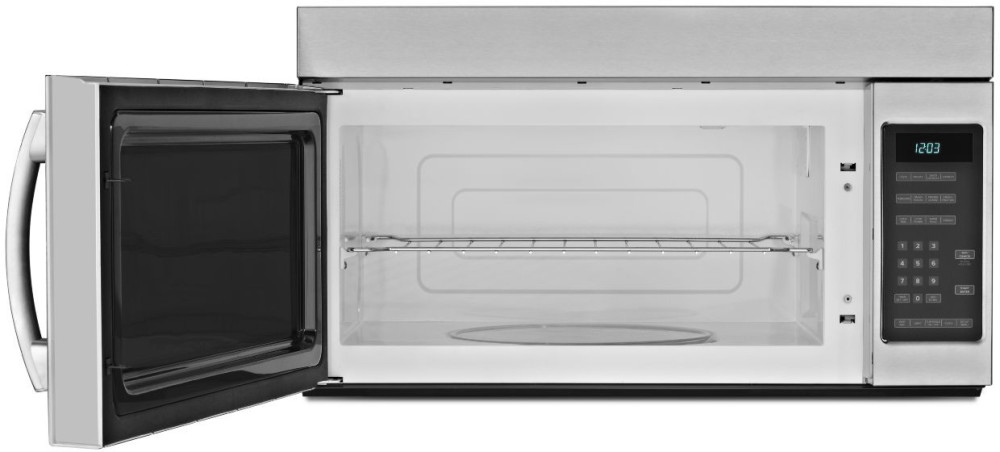 Amana Amv2175cb 1 7 Cu Ft Over The Range Microwave Oven