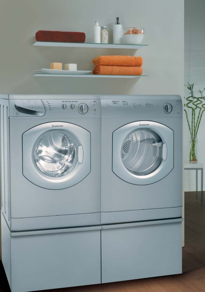 Ariston As65vxsna 24 Inch Vented Electric Dryer With Bull