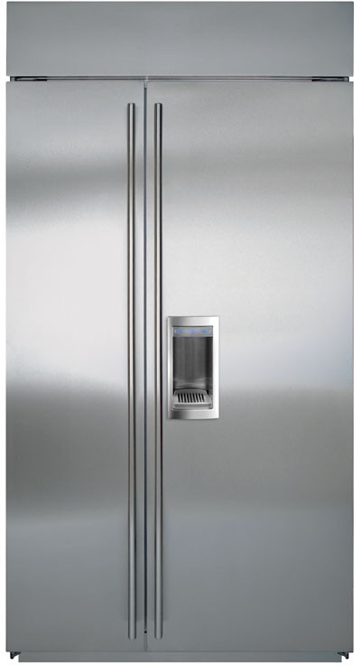 Sub Zero Bi42sd 42 Inch Built In Side By Side Refrigerator