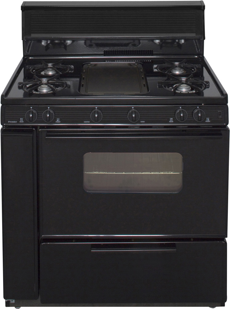 Premier Blk5s9xp 36 Inch Freestanding Gas Range With 5