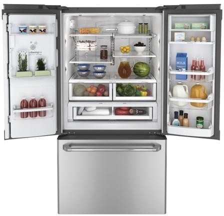 Ge Cfe29tsdss 28 6 Cu Ft French Door Refrigerator With