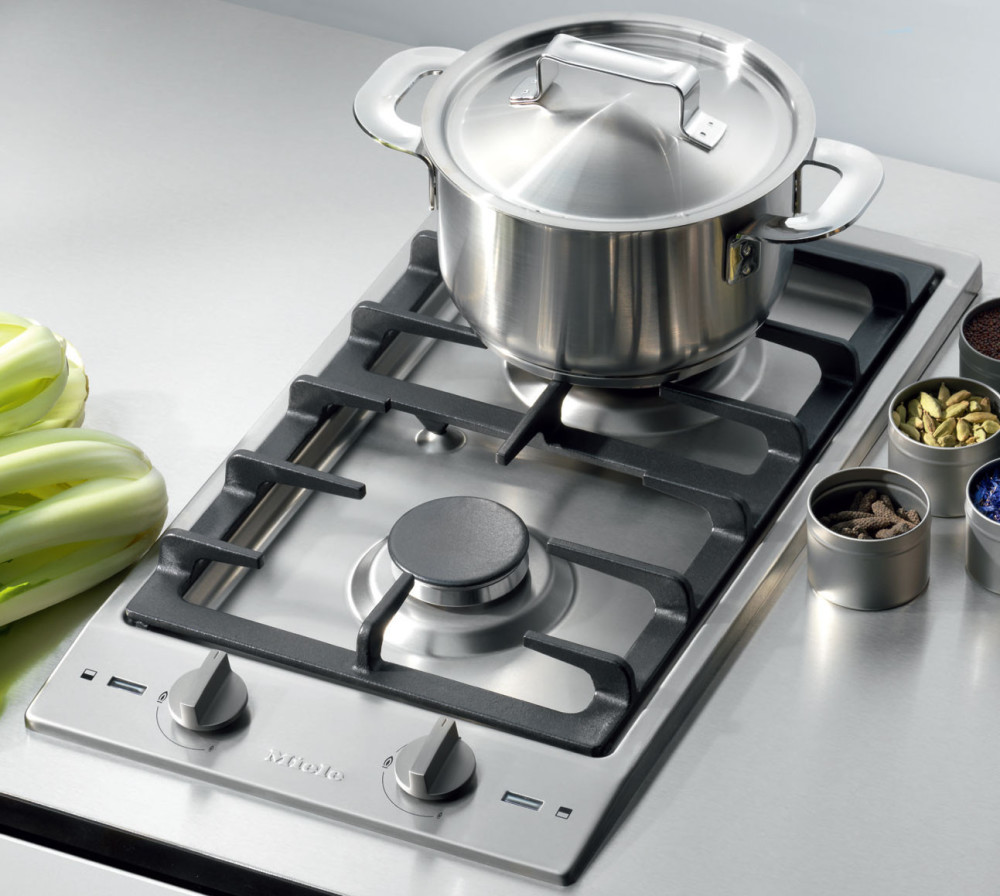 Miele Cs10121 12 Inch Gas Cooktop With 2 Sealed Burners