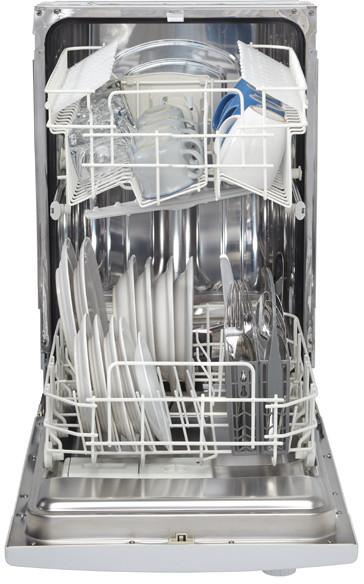 Danby Ddw1809w1 18 Inch Full Console Dishwasher With 6