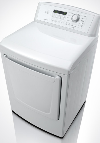 Lg Dryer Drum In The Hole ~ Lg dle w inch electric dryer with cu ft