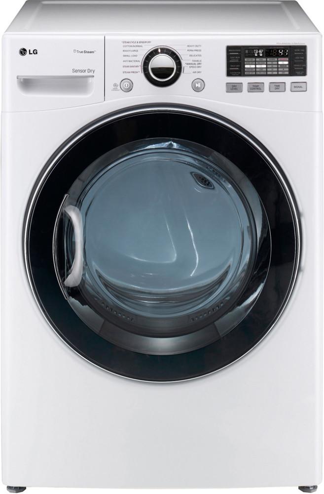 Lg Dlgx3471w 27 Inch Gas Dryer With 7 3 Cu Ft Capacity