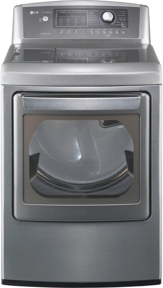 Lg Sensor Dryer ~ Lg dlex v inch electric dryer with cu ft