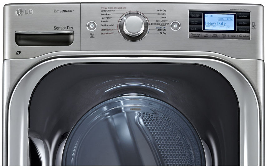 Lg Dlex8500v 29 Inch 9 0 Cu Ft Electric Dryer With 14