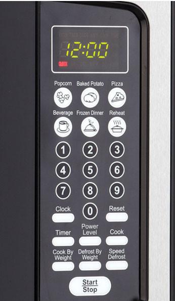Danby Dmw111kpssdd 1 1 Cu Ft Countertop Microwave Oven