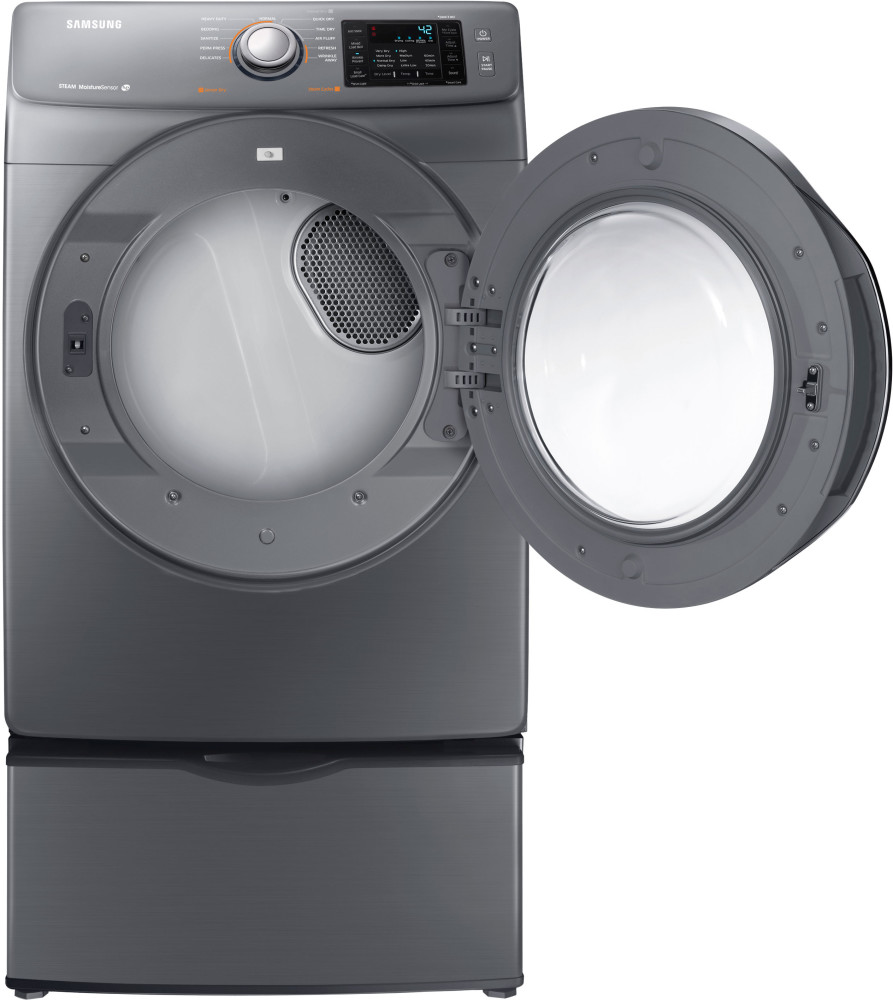 how to clean lint from samsung front load dryer