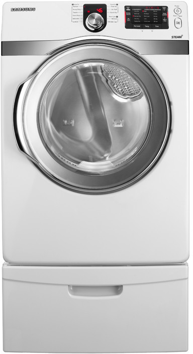 Samsung Dv419aew 27 Inch Electric Dryer With 7 4 Cu Ft Capacity 11 Drying Cycles 5