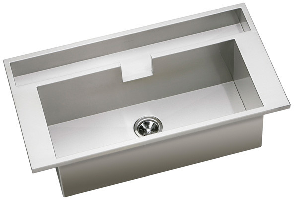 Shallow Stainless Steel Sink : Elkay EFT4022111R 40 Inch Top Mount Double Bowl Stainless Steel Sink ...