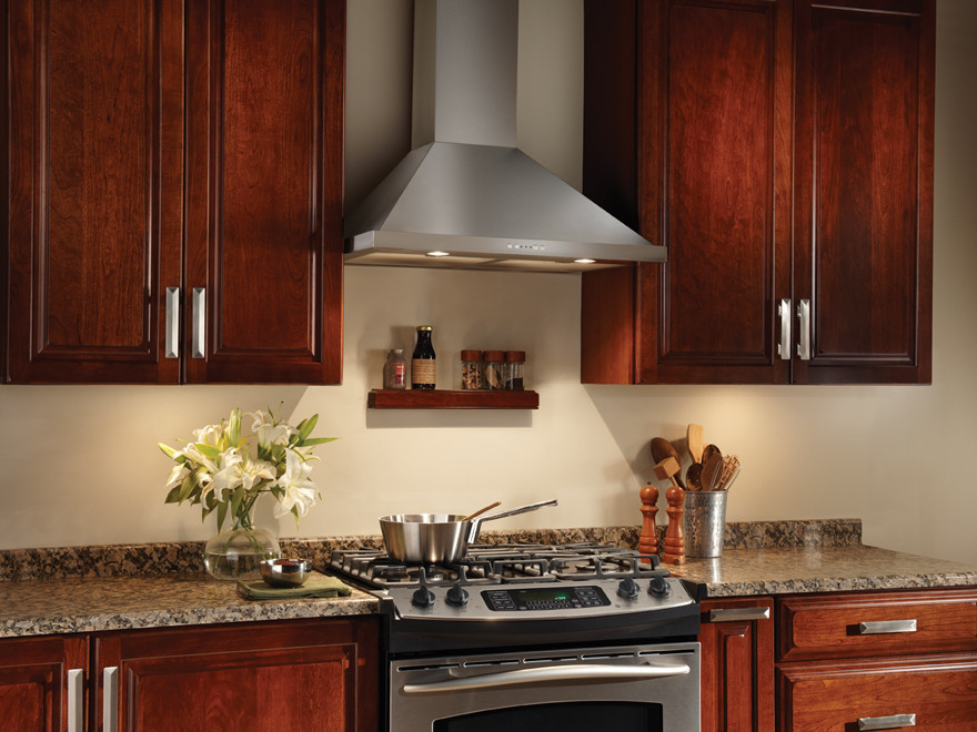 Broan Ew5836ss 36 Inch Wall Mount Chimney Hood With 500