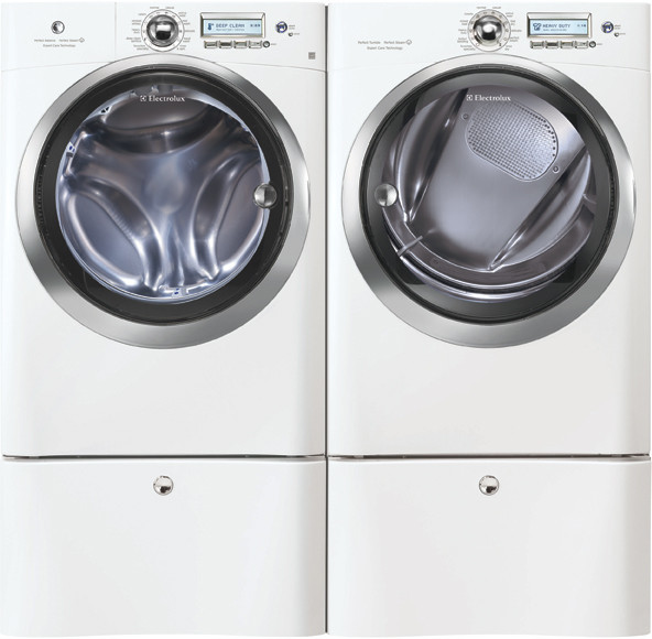Electrolux Ewfls70jiw 27 Inch 4 42 Cu Ft Front Load Washer With 65 Wash Cycles