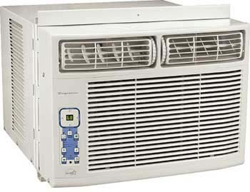 Frigidaire fac104p1a 10 000 btu compact room air for 10000 btu window air conditioner room size