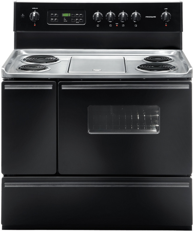 Stove With Griddle ~ Frigidaire ffef lb inch freestanding electric range