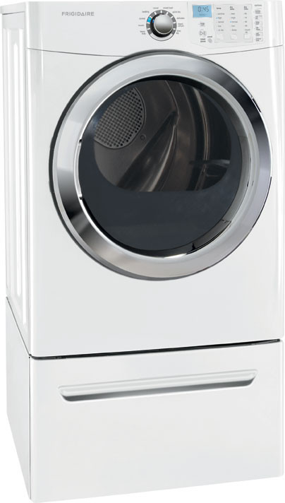 Frigidaire Ffse5115pw 27 Inch 7 0 Cu Ft Electric Dryer