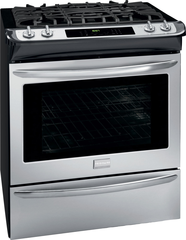 frigidaire fggs3065pf 30 inch slide in gas range with 4 5 cu ft convection oven 4 sealed. Black Bedroom Furniture Sets. Home Design Ideas