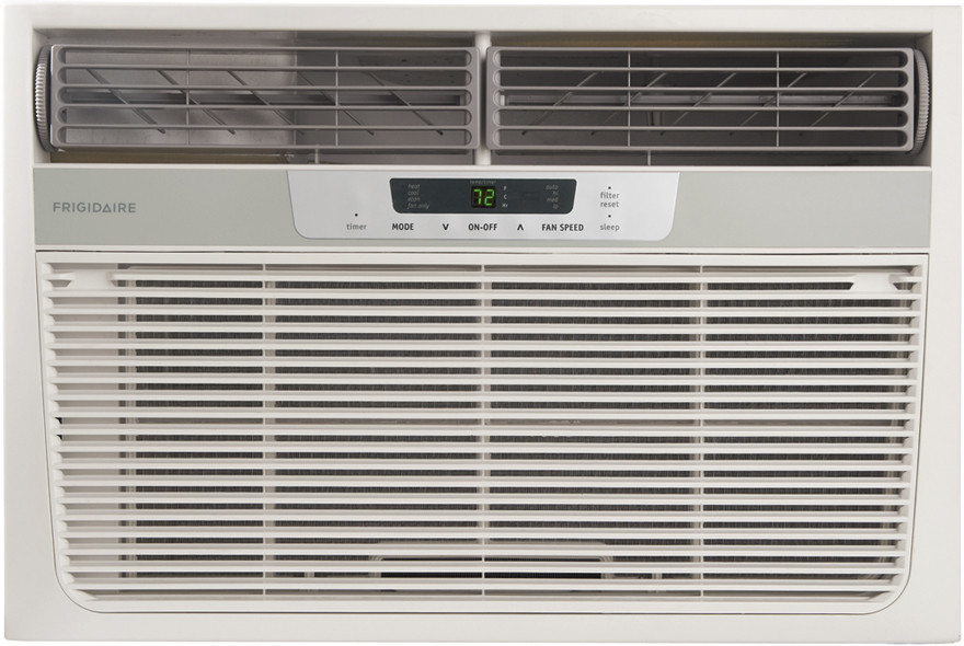 Frigidaire fra12ezu2 12 000 btu room air conditioner with for 12000 btu window air conditioner room size