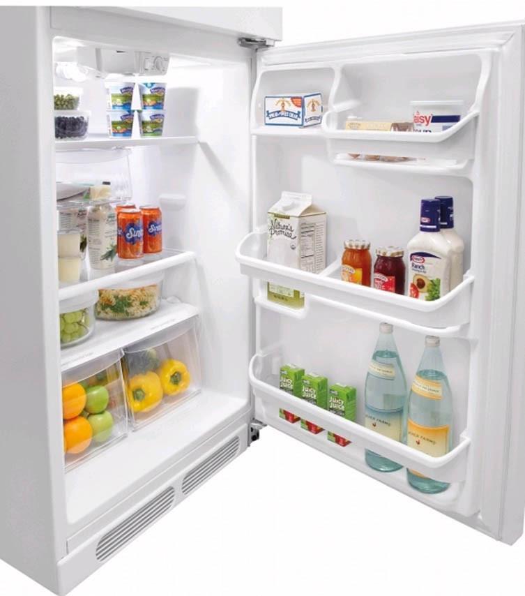 Frigidaire Ffht1515lw 14 8 Cu Ft Top Freezer
