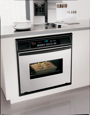 Whirlpool Gbs277pd 27 Inch Built In Single Wall Convection