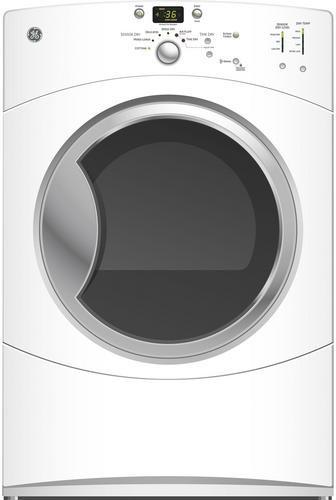 Ge Gfdn110elww 27 Inch Electric Dryer With 7 0 Cu Ft