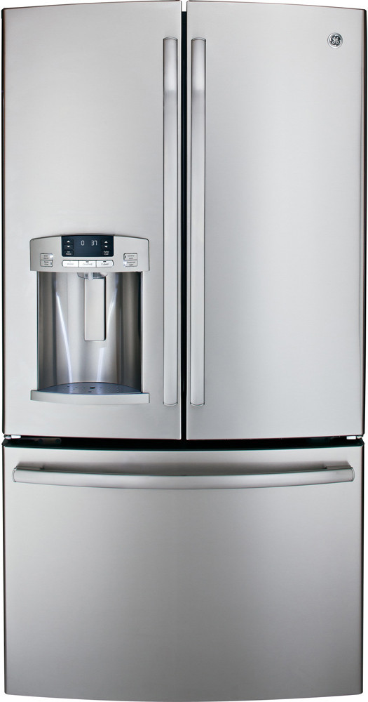 Ge Gfe29hsdss 28 6 Cu Ft French Door Refrigerator With