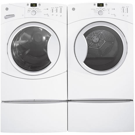 Ge Gfwn1100lww 27 Inch Front Load Washer With 3 5 Cu Ft