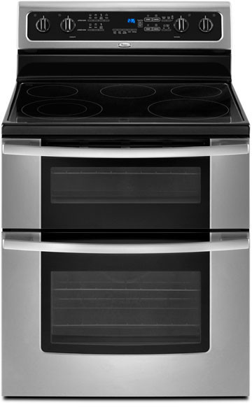 Whirlpool Gge388lxs 30 Inch Freestanding Electric Double