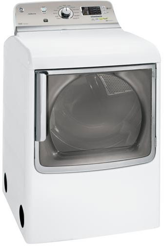 Ge Ghds830edws 28 Inch Electric Dryer With 7 8 Cu Ft