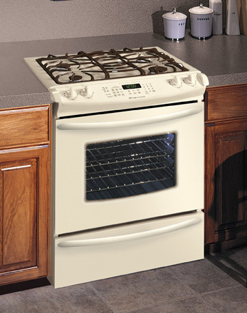 Frigidaire Glcs389fq 30 Inch Slide In Dual Fuel Range With