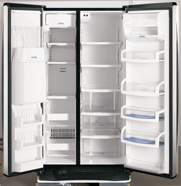 Whirlpool Gs6nbexrs 25 6 Cu Ft Side By Side Refrigerator