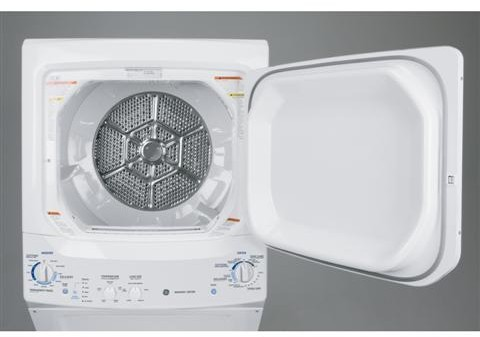 Ge Gtun275emww 27 Inch Electric Laundry Center With 5 9 Cu