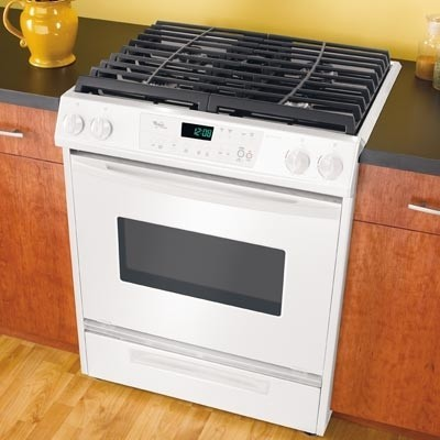 Whirlpool Gw395lep 30 Inch Slide In Gas Range With