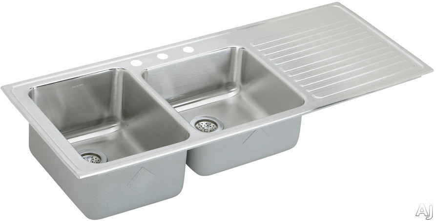Inch Top Mount Double Bowl Stainless Steel Sink with 18-Gauge, 10 Inch ...