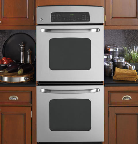 Ge Jkp75 27 Inch Double Electric Wall Oven With 3 8 Cu Ft