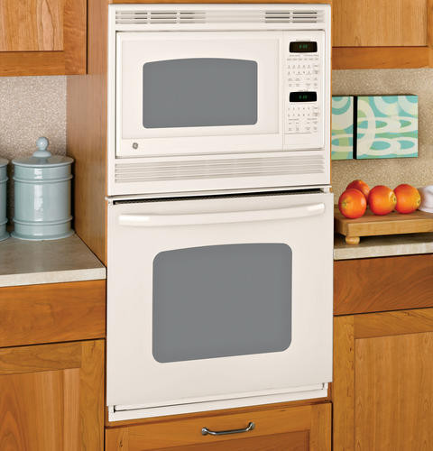 Ge Jkp90dp 27 Inch Combination Wall Oven With 3 8 Cu Ft