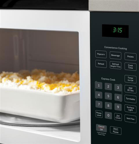 Ge Jnm3161rfss 1 6 Cu Ft Over The Range Microwave Oven