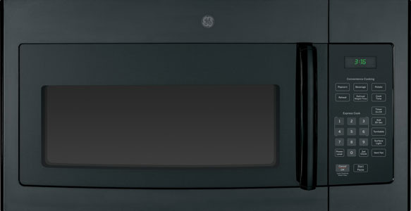 Ge Jvm3160 Over The Range Microwave Oven With 1 6 Cu Ft