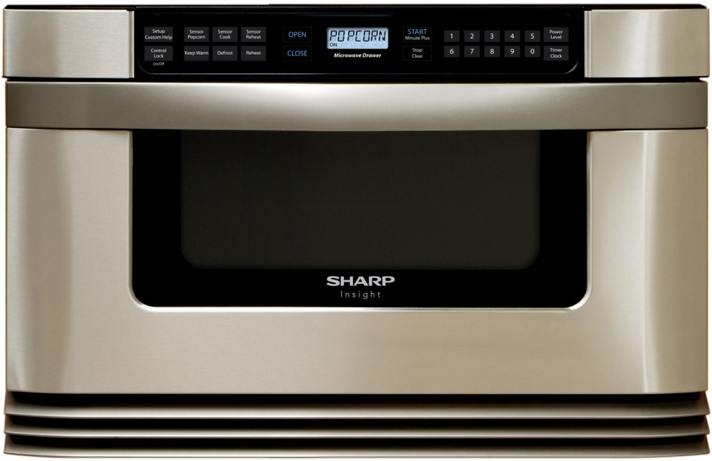 Sharp Kb6021ms 24 Inch Microwave Drawer With 1 0 Cubic Ft
