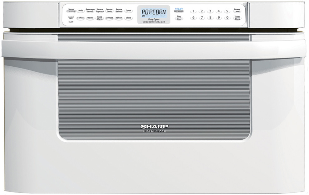 Sharp Kb6524p 24 Inch Built In Microwave Drawer With 1 2