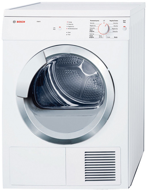 Bosch Wtv76100us 24 Inch Electric Dryer With 3 9 Cu Ft