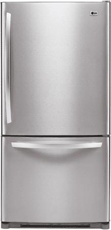 Lg Ldc22720 22 4 Cu Ft Bottom Freezer Refrigerator With