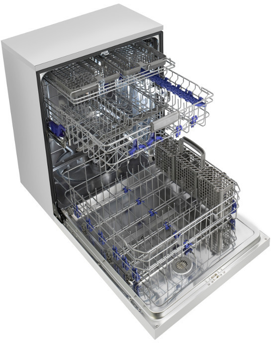 Lg Lds5774st Semi Integrated Dishwasher With 15 Place