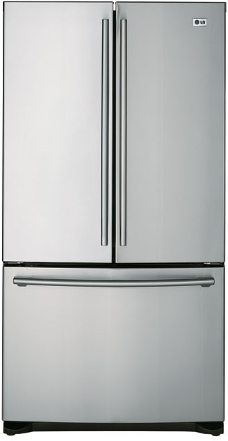 Lg Lfc25760st 25 Cu Ft French Door Refrigerator With