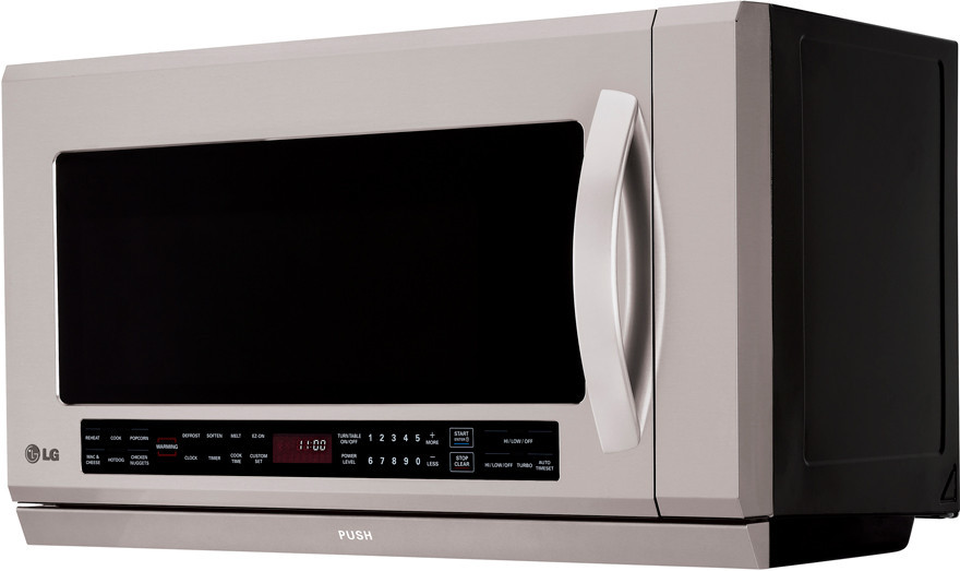 Lg Lmhm2017st 2 0 Cu Ft Over The Range Microwave With