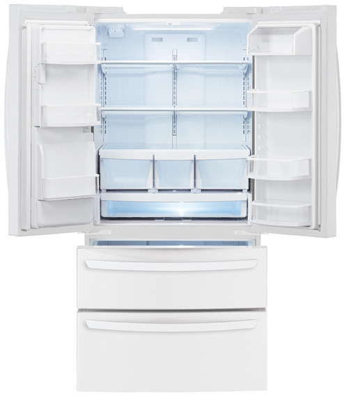 Lg Lmx25988sw 24 7 Cu Ft French Door Refrigerator With 4