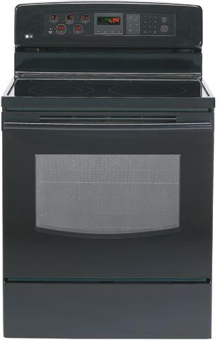 Lg Lre30451sb 30 Inch Freestanding Electric Range With Fan